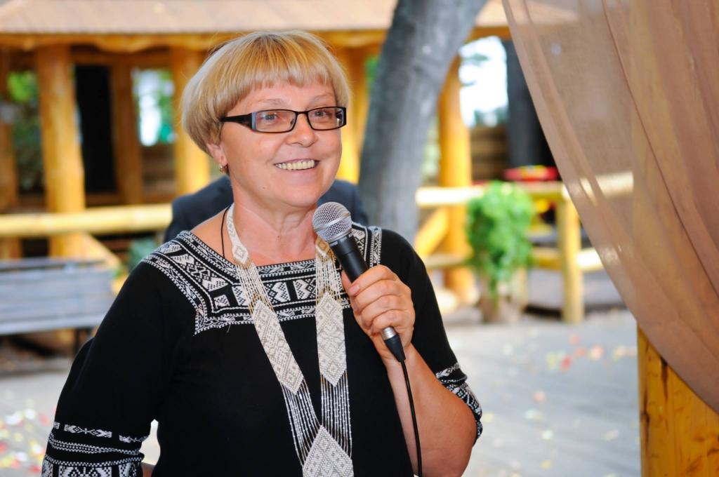 Олена Суслова, голова правління Інформаційно-консультативного жіночого центру