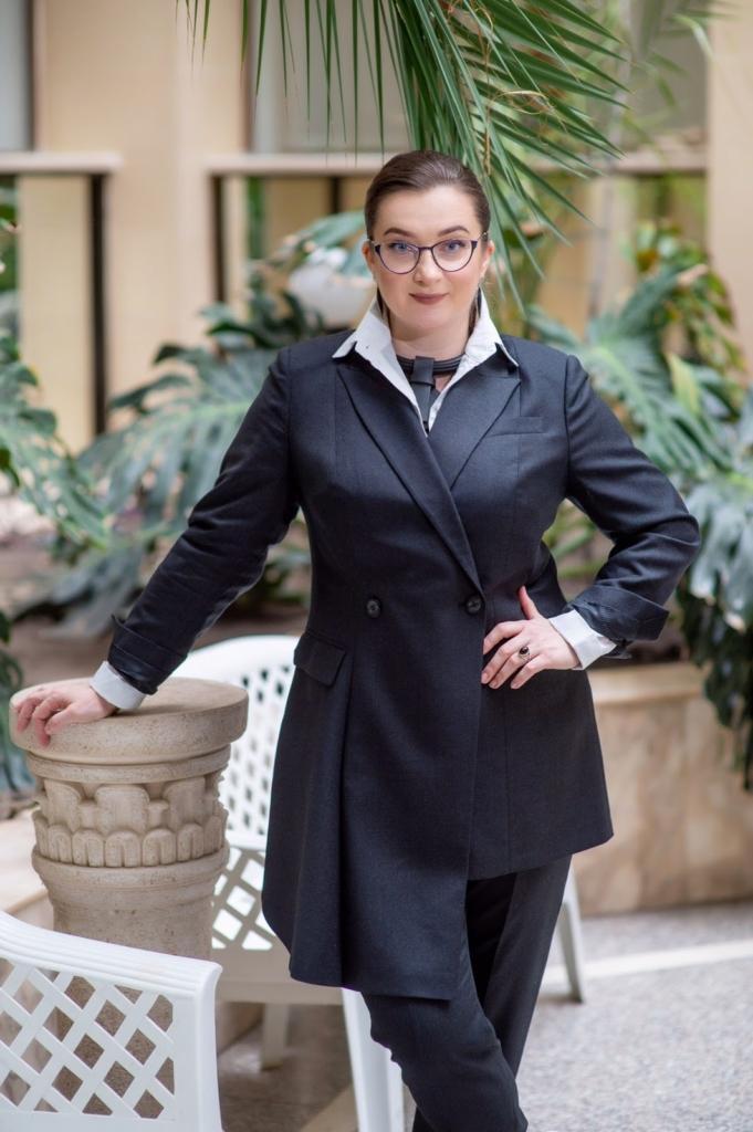 Олена Харитонова, кандидатка юридичних наук, доцентка кафедри кримінального права Національного юридичного університету імені Ярослава Мудрого