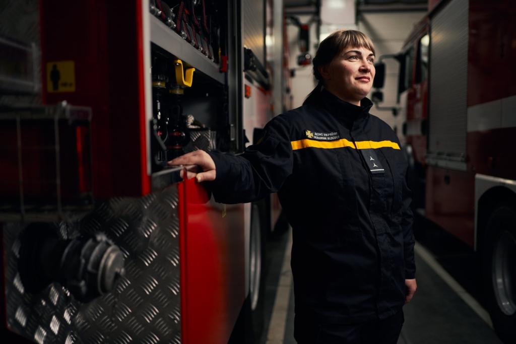 Анастасія Клочко, пожежниця з Черкас